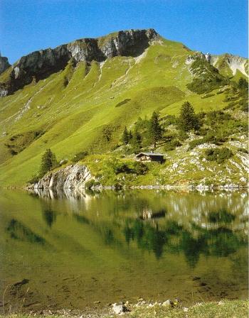 Allgäuer alpen hütten